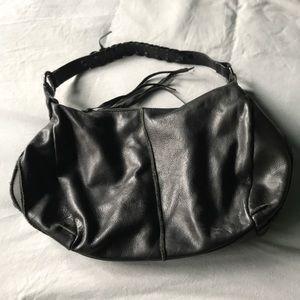 KENNETH COLE REACTION Black Shoulder Bag Purse